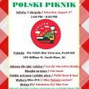 Piknik na Recz Polskiej Szkoly ZPA Sobota 2go Sierpnia 2-8pm  ZAPRASZAMY!!!